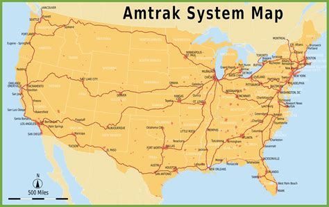 usa map states philadelphia amtrak system map