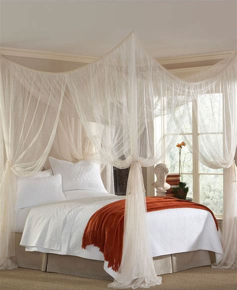25 best ideas about bed canopy with lights on