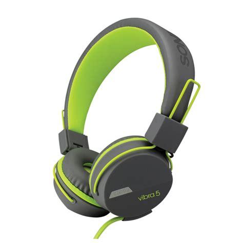 Resong Q12 Bass Wired Headset Grey sonic gear vibra 5 wear comfort bass stereo