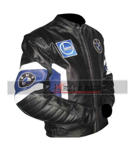 Bmw Leather Jacket by Bmw Black Motorcycle Leather Jacket