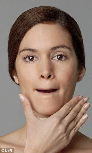 aging jaw line getting rid of face lines with face lift exercise anti