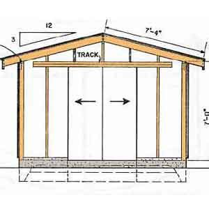 Free 8x12 Shed Plans by Shed Plans Vip12 X 12 Shed Plans Free A Guide To The