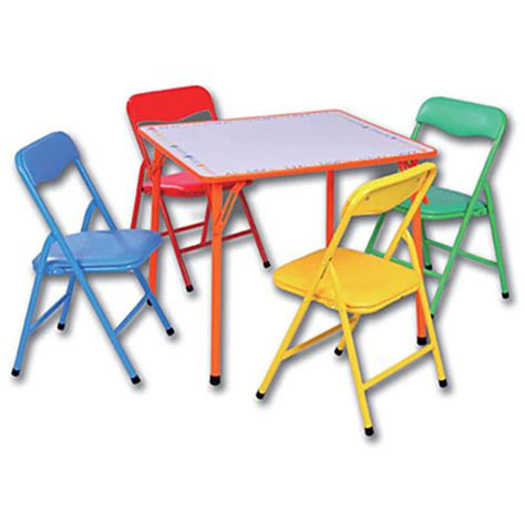Folding Childrens Table And Chairs Bounce Quot N Quot Rentals Llc Tents Tables