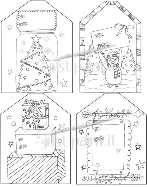 coloring page christmas tags free coloring christmas gift tags