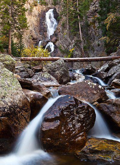 steamboat fish fish creek falls steamboat springs colorado woman in