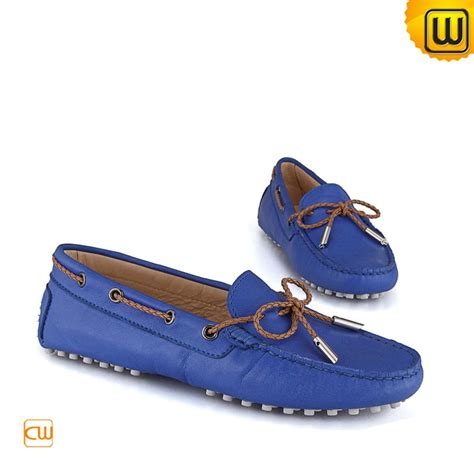 womens driving shoes leather tods moccasin shoes cw314029