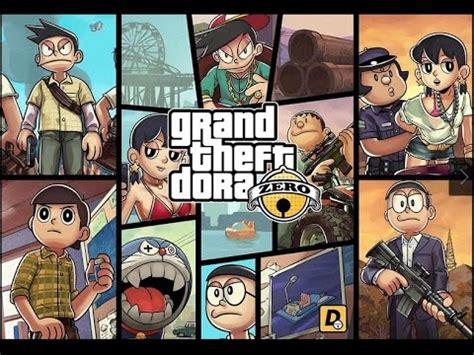 grand theft doraemon gta 5 in doraemon theme youtube