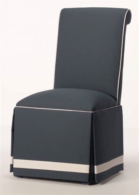 Blue dining chair slip cover chair pads amp cushions