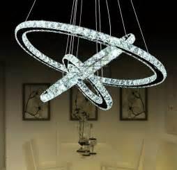 Crystal Light Coupons Diamond Ring Crystal Chandelier Lighting Modern Led Dining