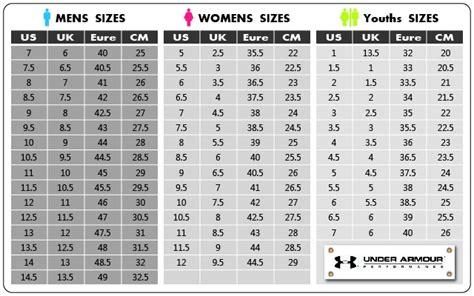 shoe size chart under armour under armour speedform gemini blue white 2015 new mens
