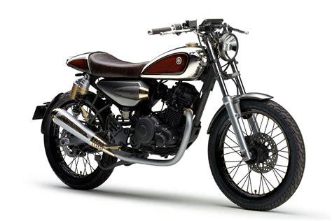 Yamaha Motorrad Retro by Yamaha Resonator125 Concept A Retro Bike For Beginners