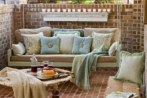 sunbrella patio swing the 50 hottest pinterest photos hgtv
