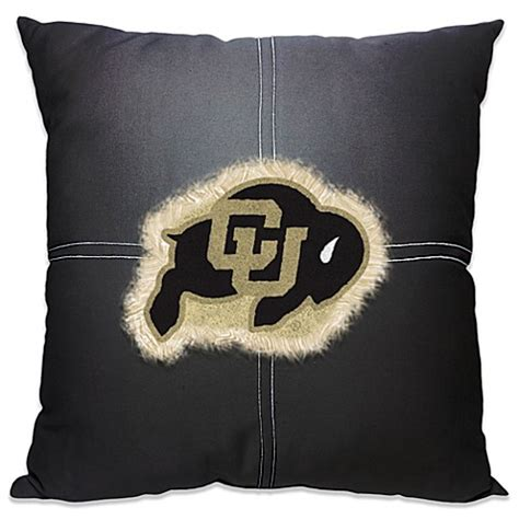 bed bath and beyond boulder university of colorado boulder 18 inch letterman throw