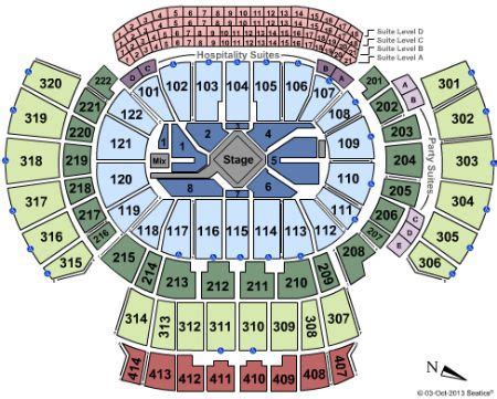 phillips center capacity floor philips arena tickets and philips arena seating chart