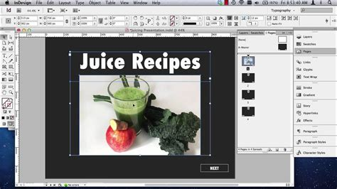 Indesign Interactive Pdf Presentations Part 1 Of 2 Youtube Interactive Pdf Templates Indesign