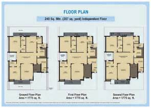 80 yard home design floor plans wave city an residential project at ghaziabad