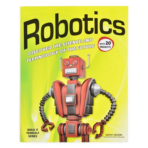 libro discover science robots robotics discover the science and technology of the future bok 11499 sparkfun electronics