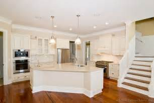 White Kitchen Cabinet Design Pictures Of Kitchens Traditional White Antique