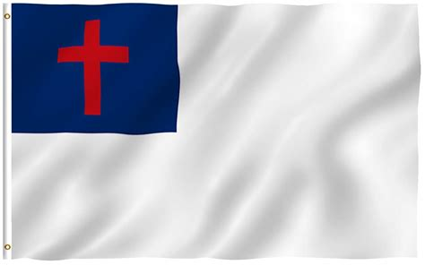 christian flag images kayso flags christian religious polyester stores