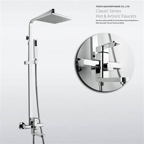 bath mixer tap shower kaiping modern style bathroom bathtub chrome brass bath