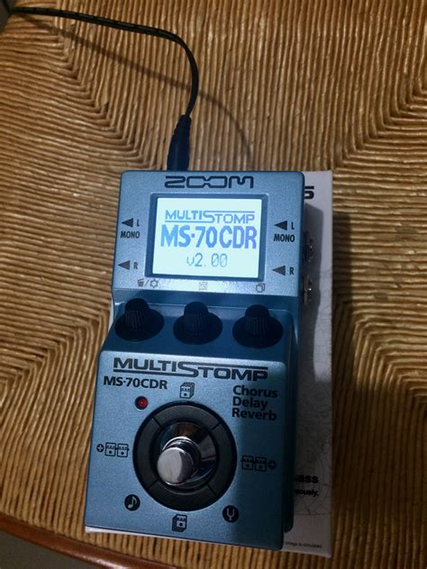 Zoom Multistomp photo zoom multistomp ms 70cdr zoom multistomp ms 70cdr 87175 2040341 audiofanzine