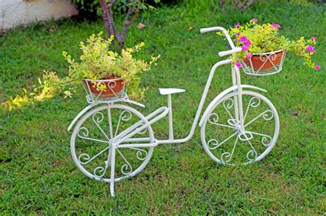 garden decoration cycle 33 bicycle flower planters for the garden or yard