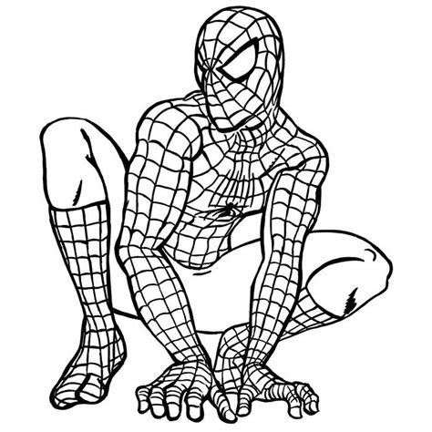 spiderman coloring spiderman coloring pages 4 kids