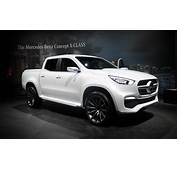 Mercedes Benz Reveals Nissan Based Pickup Concepts – News