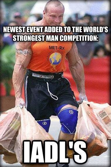 Strongman Meme - strongman competition adds new event carrying grocery