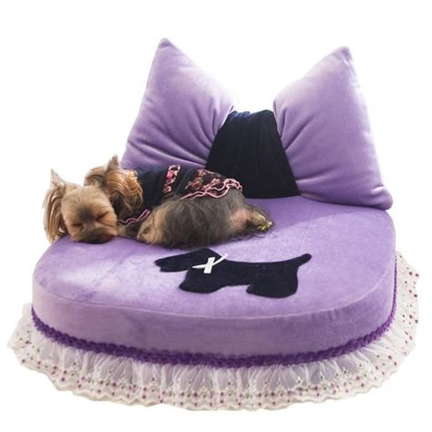 dog princess bed purple pillow princess bed diva dog furniture pinterest
