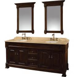 bathroom vanities 72 quot andover 72 dark cherry bathroom vanity bathroom vanities bath kitchen and beyond
