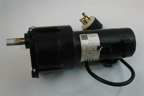 Electric Motor Companies by Bodine Electric Company Gear Motor 130v 1 17hp 24a4bepm Za