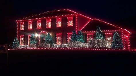 Christmas Lights In Louisville Taylor Homes Light On Houses