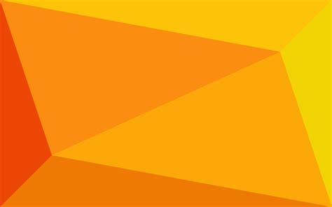 wallpaper orange biru orange triangles by m w simple desktops