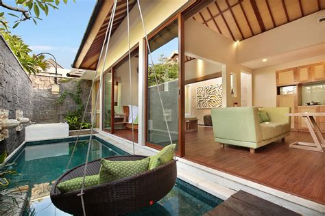 one bedroom villa in bali legian kriyamaha villa romantic private pool villa in