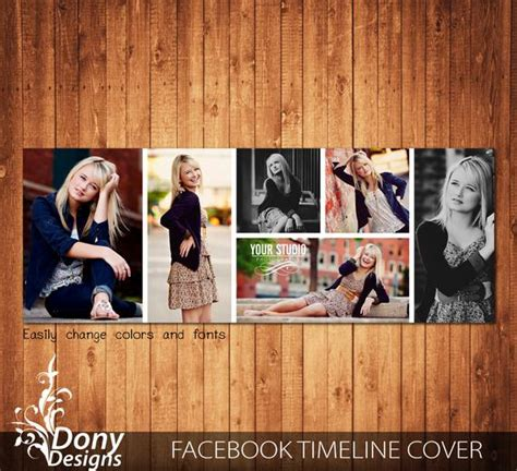 Facebook Timeline Cover Template Photo Collage By Donydesigns Cover Collage Template