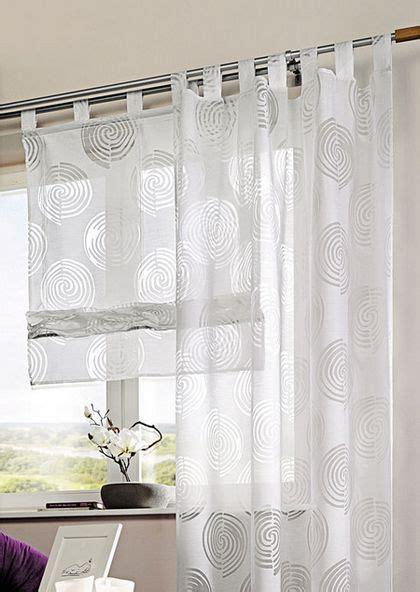 gardinen mit schlaufen vorhang wei 223 transparent jamgo co