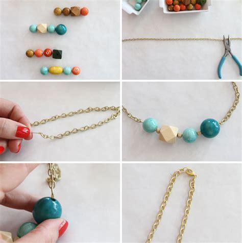 diy bead jewelry easy diy necklace to jewelry pendants