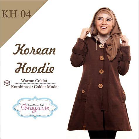 Jaket Anak Korea Khg10 Grayscale jual jaket islam jual jaket grayscale jaket wanita muslimah jaket anak terbaru