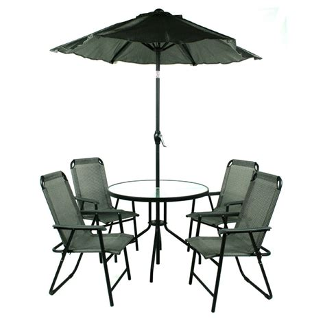 table with umbrella for patio mike davies s home - Patio Table And Chairs With Umbrella