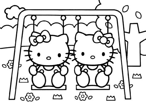 Hello Kitty Coloring Pages To Print Archives For Free Printable Coloring Pages For