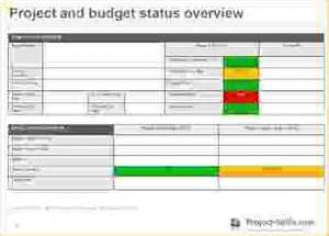 project management update template project status update template 5 free project management