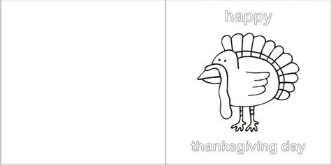 Free Thanksgiving Greeting Card Templates by Printable Thanksgiving Greeting Card Craft Ideas For
