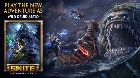 Smite Giveaway 2017 - smite shadows over hercopolis wild druid artio giveaway free online mmorpg and mmo