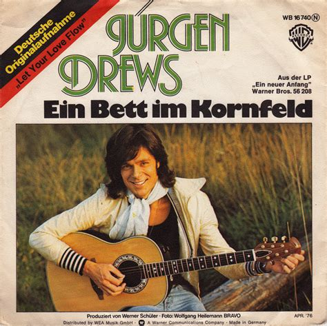 J 252 Rgen Drews Ein Bett Im Kornfeld Vinyl At Discogs