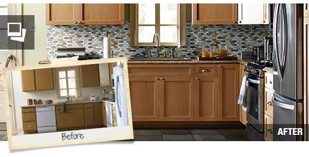 reface kitchen cabinets home depot kitchen cabinet refacing at the home depot