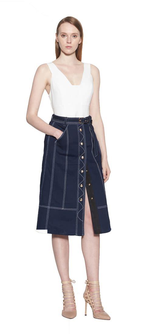 verona denim skirt