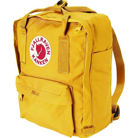lyst fjallraven mini kanken  mustard  yellow