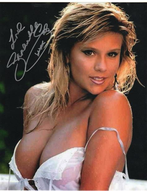 Sabrina Marcy page 3 legend signed 10x8 fox model