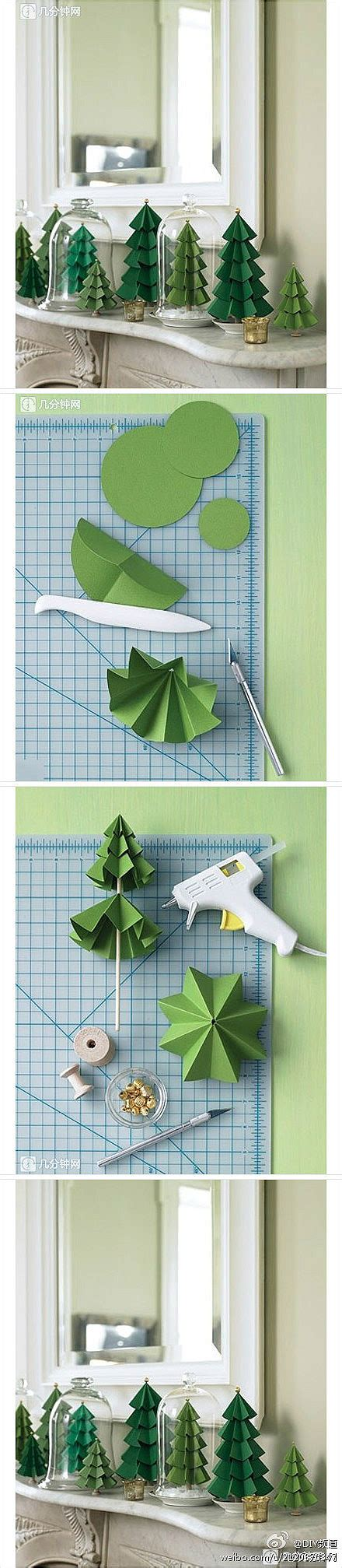 How To Make Paper From Trees Step By Step - how to make paper craft trees step by step diy